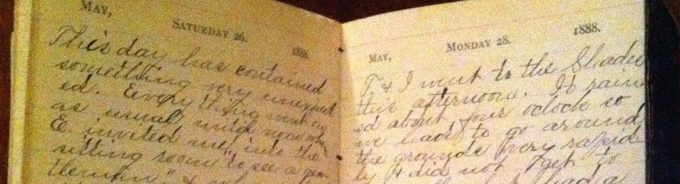 1888 Diary of Minnie LeCraw
